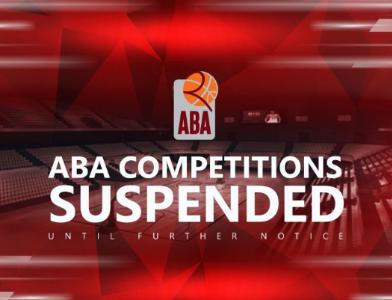 ABA liga zaustavila natjecanje